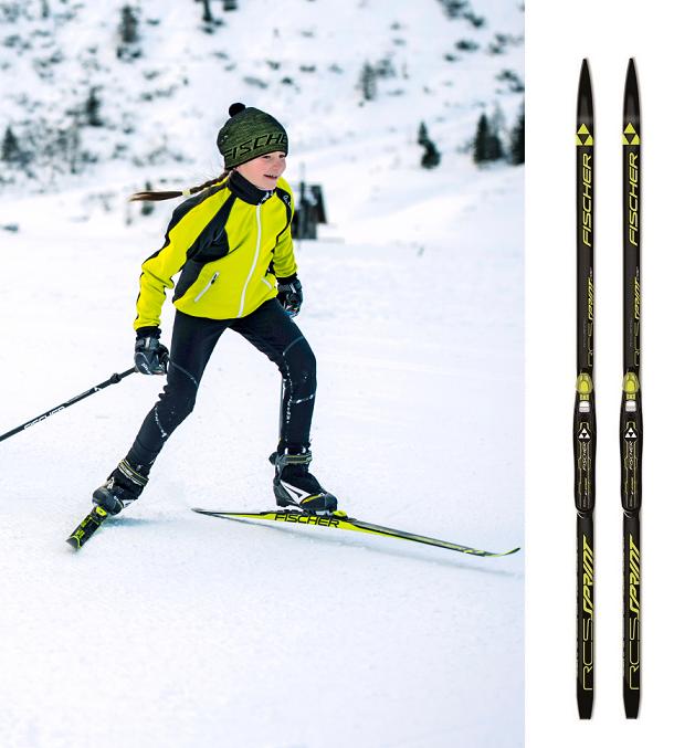 Купить Беговые лыжи Fischer Sprint Crown NIS JR Yellow 16-17 N63815 ... 94c336bb25e