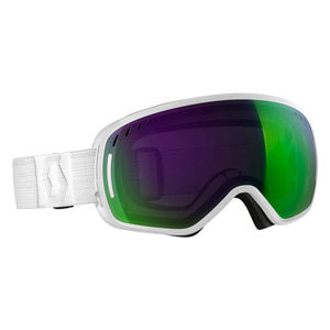Маска SCOTT LCG 17/18 (White  (Solar green chrome) )